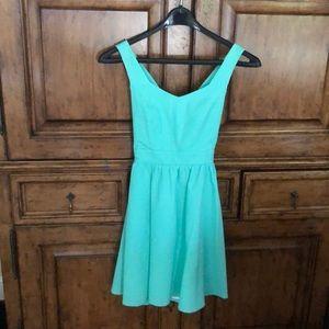 Sea Green Lauren James dress